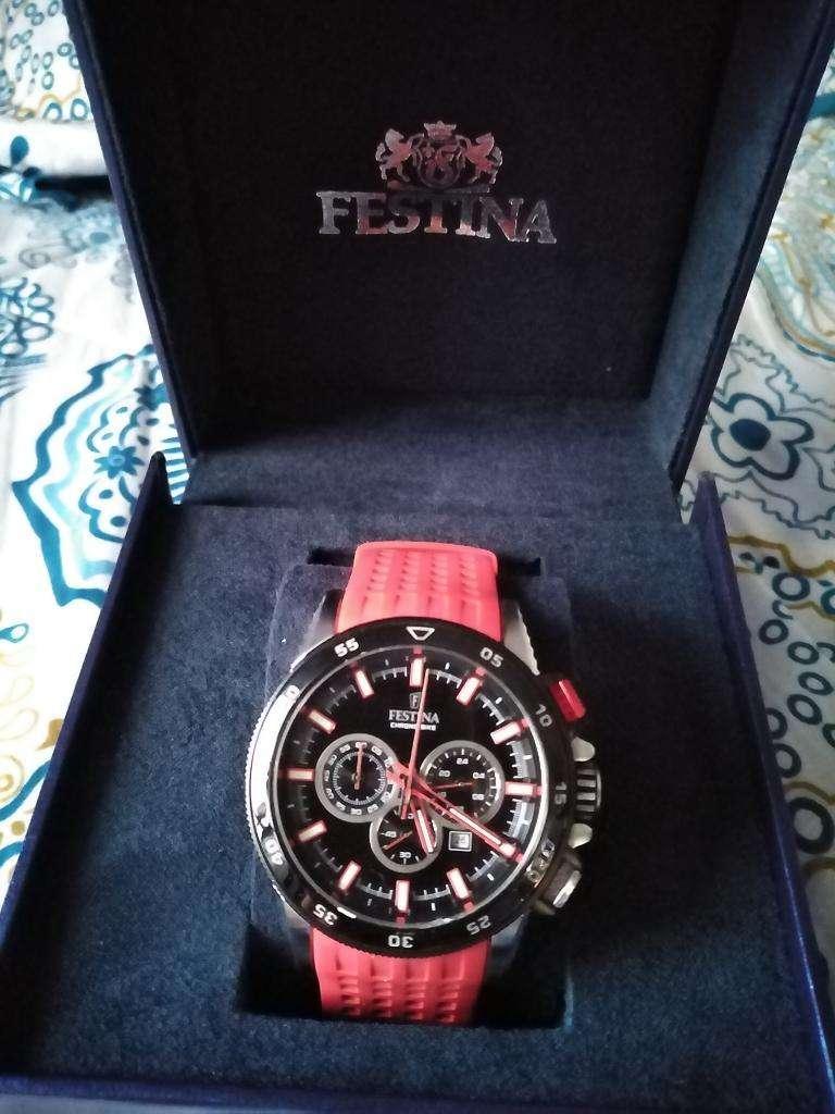 Reloj Festina F20353 8 Chrono Bike Rojo 0