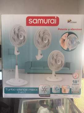Ventilador samurai
