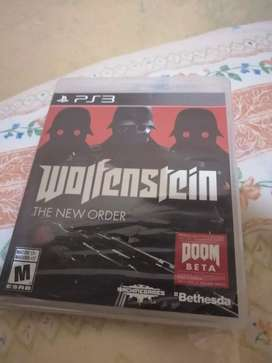 Juego ps3 wolfenstein sellado