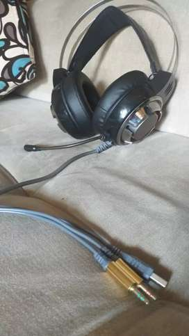Vendo audífonos de game