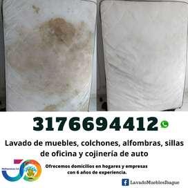 Limpieza COLCHONES, LAVADO MUEBLES, COJINERÍA CARROS Y MÁS Ibagué