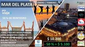 Oferta Paquetes Turísticos con reintegro del 50 % del Gobierno