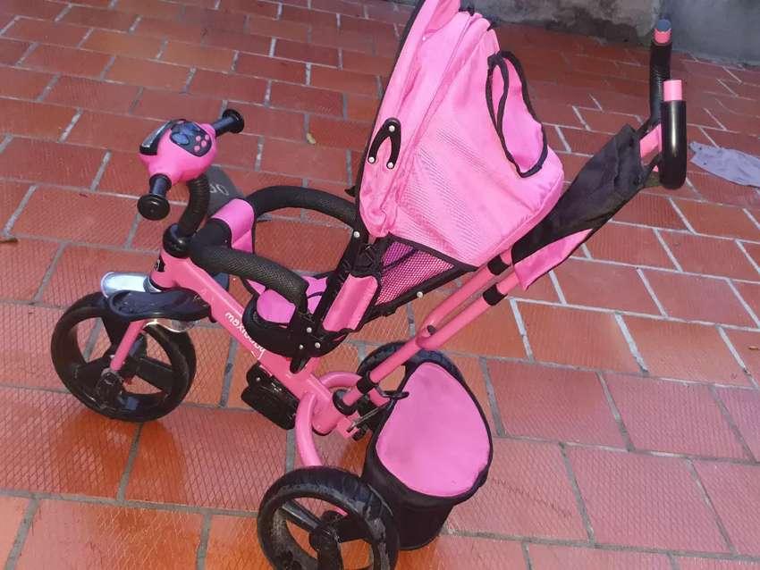 Triciclo niña 0