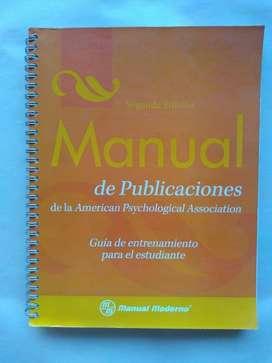 Manual Publicaciones APA