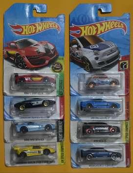 Hot Wheels Lote 8 Carros Nuevos Para Destapar Coleccionables