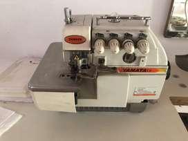Maquina coser overlock yamata
