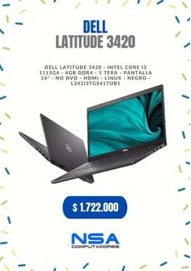 Dell latitude 3420