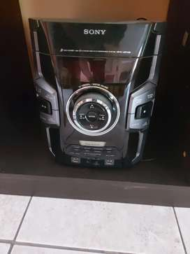 Sony minicomponente MHC GPX8 LED 1600w
