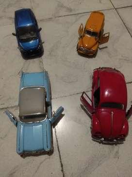 Carros metálicos colección