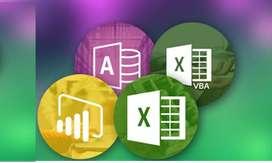 Asesoria Personal, Empresarial Excel, Acces y Power BI tambien se cuenta con Cursos