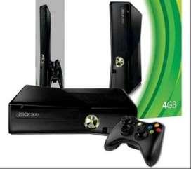 Xbox 360. Consola chipeada + kinetic + 2 jockstic + 12 juegos