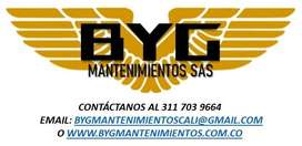 BYG MANTENIMIENTOS SAS, COMERCIALIZACIÓN Y MANTENIMIENTO ESPECIALIZADO DE PLANTAS ELÉCTRICAS Y MOTORES DIESEL
