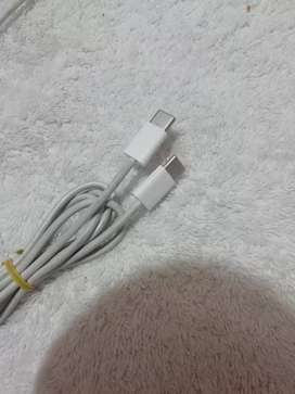 Cable conector Tipo C macbook, İpad