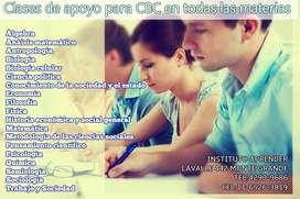 CBC, CLASES DE APOYO EN TODAS LAS MATERIAS EN MONTE GRANDE