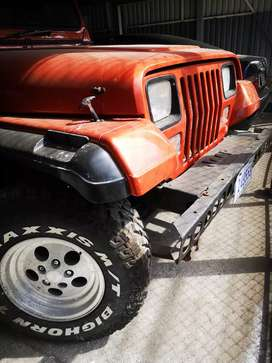 JEEP Wgrangler  recivo