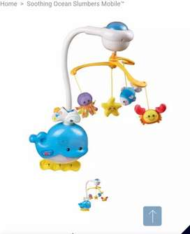 Mobil para cuna de bebe