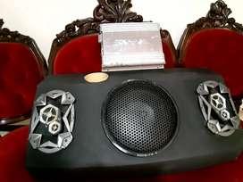 NEGOCIABLE !Planta de sonido amplificador marca cerwin-vega y cabina
