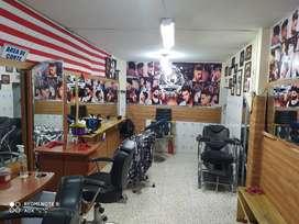 Vendo barberia salón de belleza
