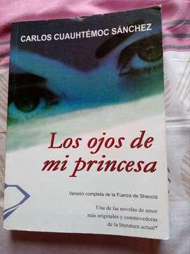 Libro ''Los ojos de mi princesa''