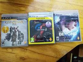 3 juegos ps3 x 70mil usados en excelente estado