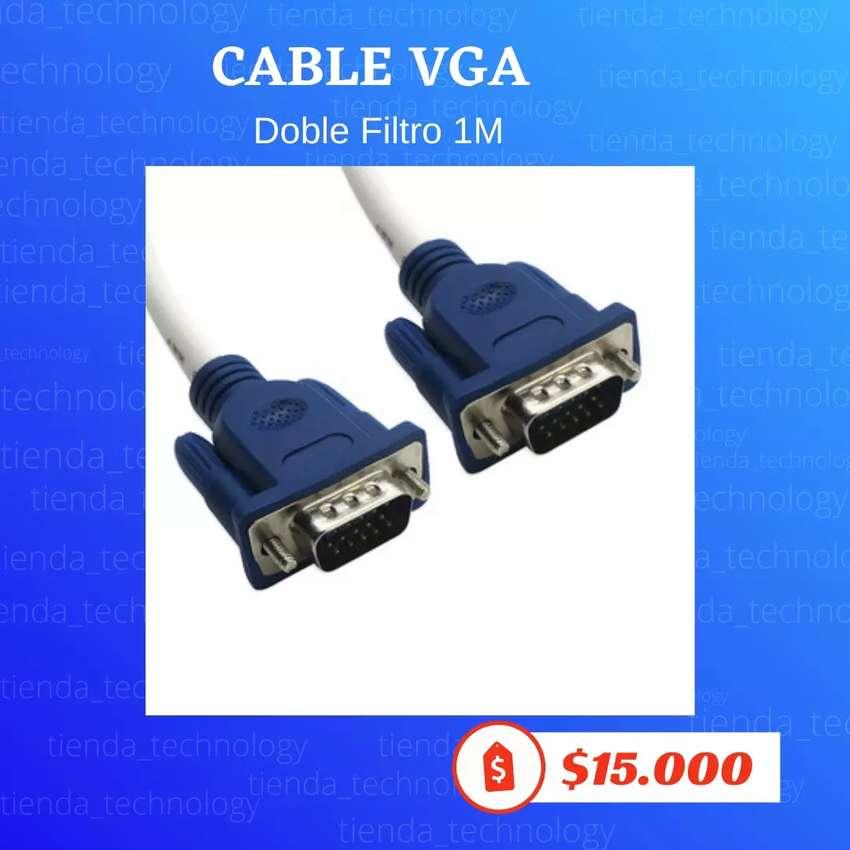 Cable VGA doble filtro