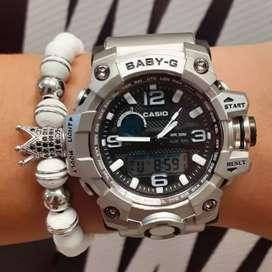 Reloj para mujer plateado