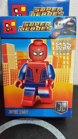 Spiderman Hombre Araña Minifigura Lego Super Heroe Marvel Dc Avenger