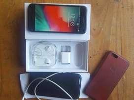 Iphone 6 32GB + auriculares + cargador + 2 fundas. Hago envios