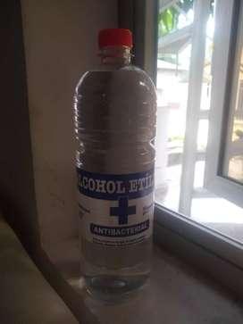 Alcohol etílico al 80% Litro $10.000