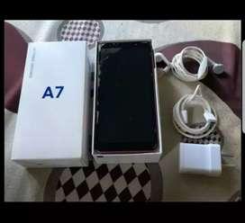 Celular Samsung A7 Triple Cámara