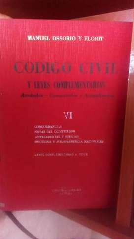Código Civil comentado (Osorio Florit)