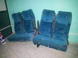 Vendo pachas sillas para buseta nuevas
