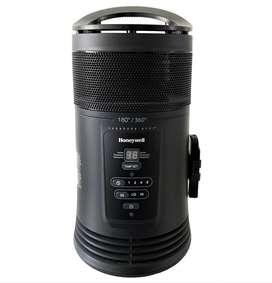 Calentador Ambiente Honeywell 360° Digital + Control Remoto