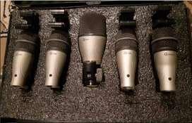 Kit De Microfonos Bateria Dk5