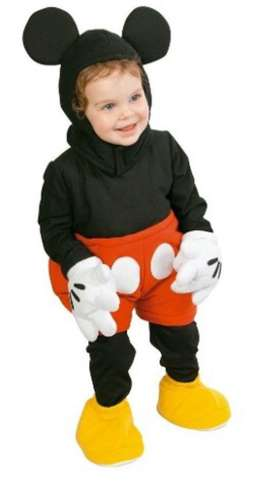 Disfraz Mikey Perfecto Estado Bebe 1 a 2
