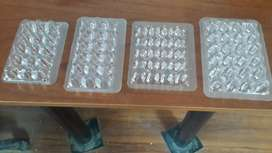 Cubetas para huevitos de codorniz
