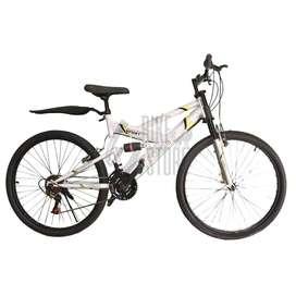 Bicicleta aro 26 doble suspensión