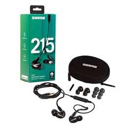 Audífonos Shure In Eras Se215 para monitoreo nuevos