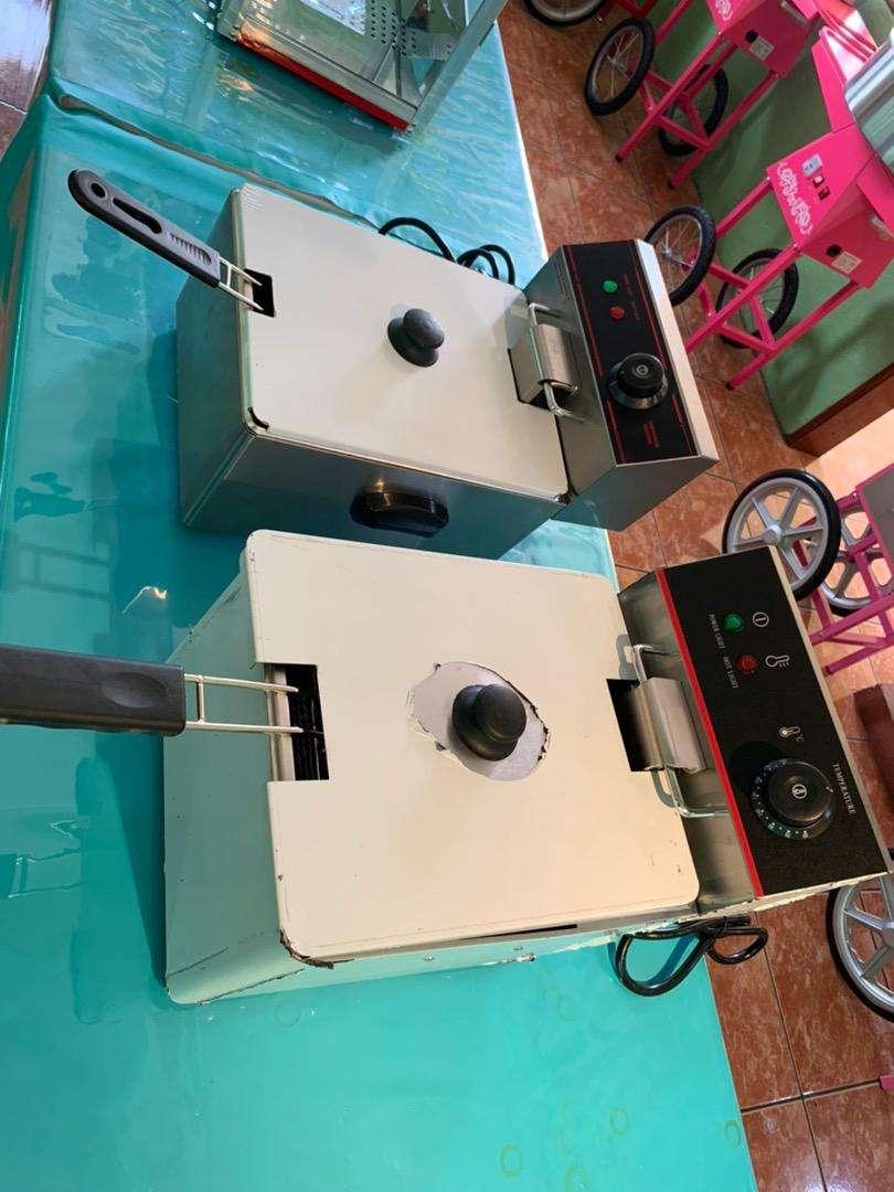 Freidoras electricas 1 y 2 tanques 0