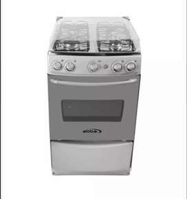 Estufa abba con horno y gratinador