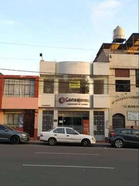 Alquiler Local Comercial - Av. San Martin Nº 931 (2do Piso) Tacna