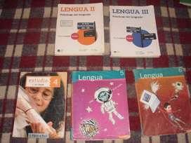 LIBROS DE LENGUA