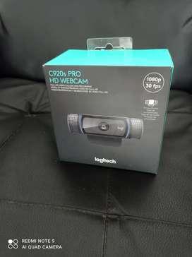 Camara web cam Logitech c 920 pro