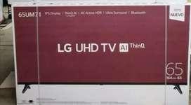 TV LG 4K nueva de paquete