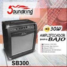 GRANDIOSO AMPLIFICADOR DE BAJO  SOUNDKING SB300