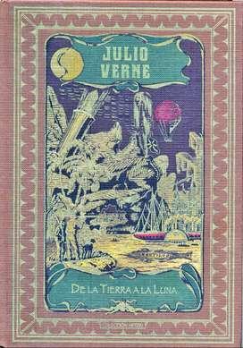 JULIO VERNE - De La Tierra A La Luna - Colección HETZEL