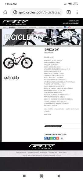 Grizzly 26 bicicleta