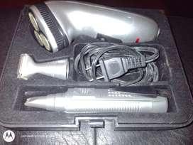 Afeitadora electrica con patillera nueva
