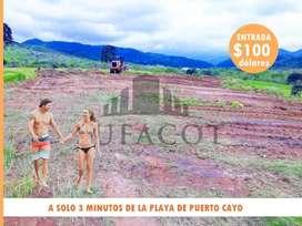 Valor Exclusivo 100USD De Entada Propiedad En La Playa Credito Directo Sin Reajustes Manta  SD2