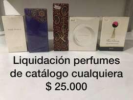 Gran liquidación perfumes y colonias. Precios en promoción.